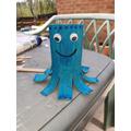 Loo roll octopus