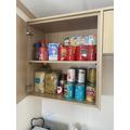 Full cupboards