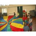 Parachute games!
