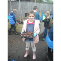Forest School - planting vegetables