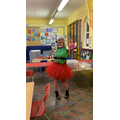 Miss Janine dressing up for ELF Day