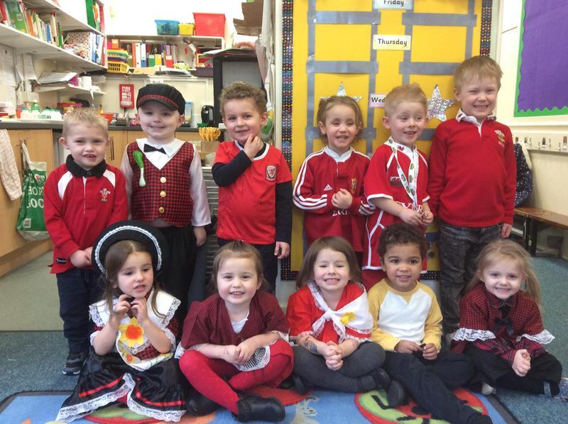 St Davids Day Afternoon Nursery