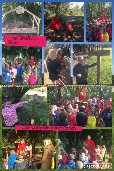 Little Red Riding Hood took us to find Gruffalo