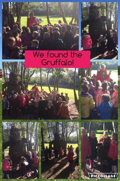 We found the Gruffalo