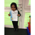 Great phonics and reading - Well done!