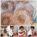 Mariam has made these yummy donuts