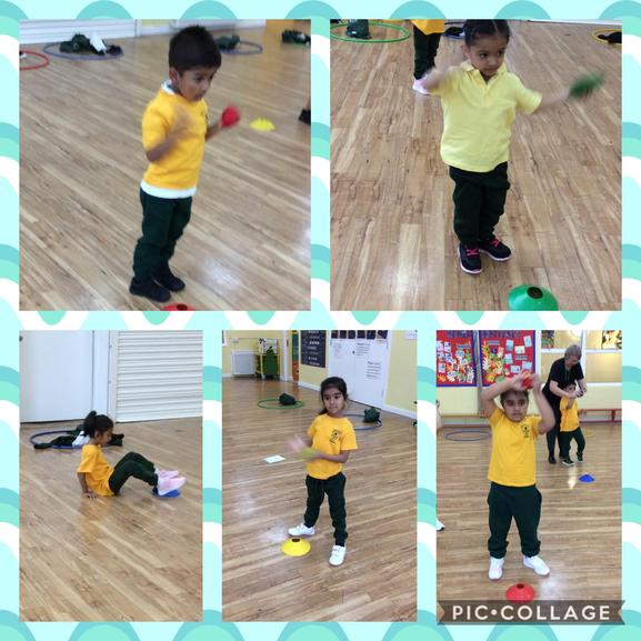 We have been working on our fundamental movement skills in PE.