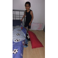 Qasim has made his own bed