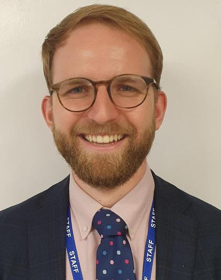Mr Wolff - Year 5 Teacher  (covering maternity leave