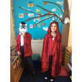 Red Riding Hood - acting out the story.