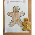 The Gingerbread Man - design and decorate.