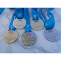 The 5 Medals that Zoe won.