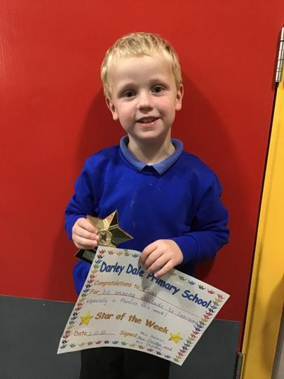 Congratulations to Elias our Star of the Week! (02.10.20)