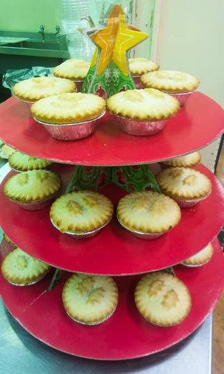 Yummy mince pies
