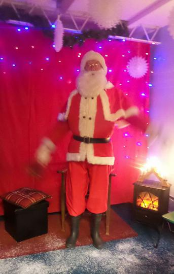 Father Christmas arrives!