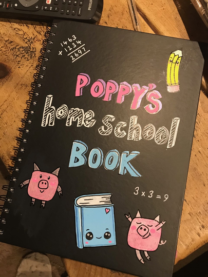 Look at Poppy's workbook! - I want one!