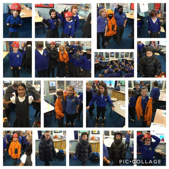 Dressing to keep warm!