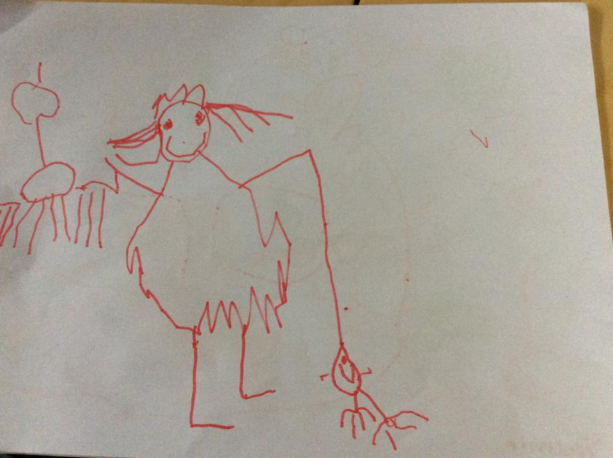 The Queen by Yasmin age 4