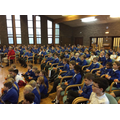 KS2 filled the hall in the United Reformed Church