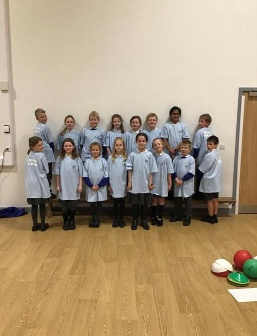 Year 4 Sports Leader tops