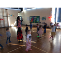 Early Years start the dancing...