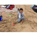 A fabulous sandcastle.