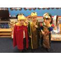 The Tiptoe Nativity