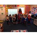 The Darras Hall Superheroes.