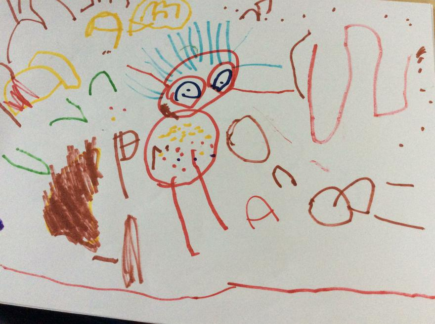 The Queen and the Queen Palace by Poppy age 4