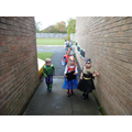 The superheroes saved the day! Phew!