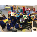 We love reading in Nursery.