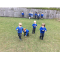 Egg and spoon races.