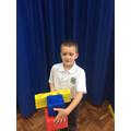 Edward's giant LEGO