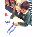 Pair counting with mini speed stacks!