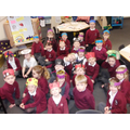 Look at our brilliant bug hats!