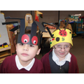 Look at our fantastic hats!