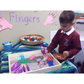 Exploring the Funky Finger interactive display...