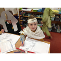 A mummy solving maths problems