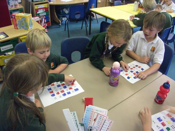 Amber Power - Playing a Maths Game with a Partner
