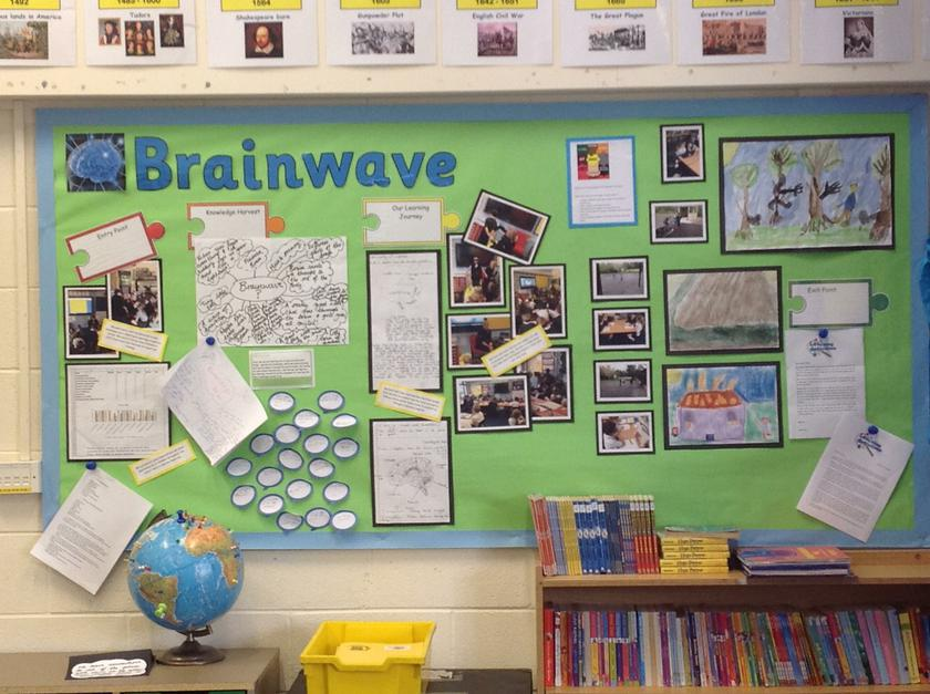 Sharing our wonderful learning