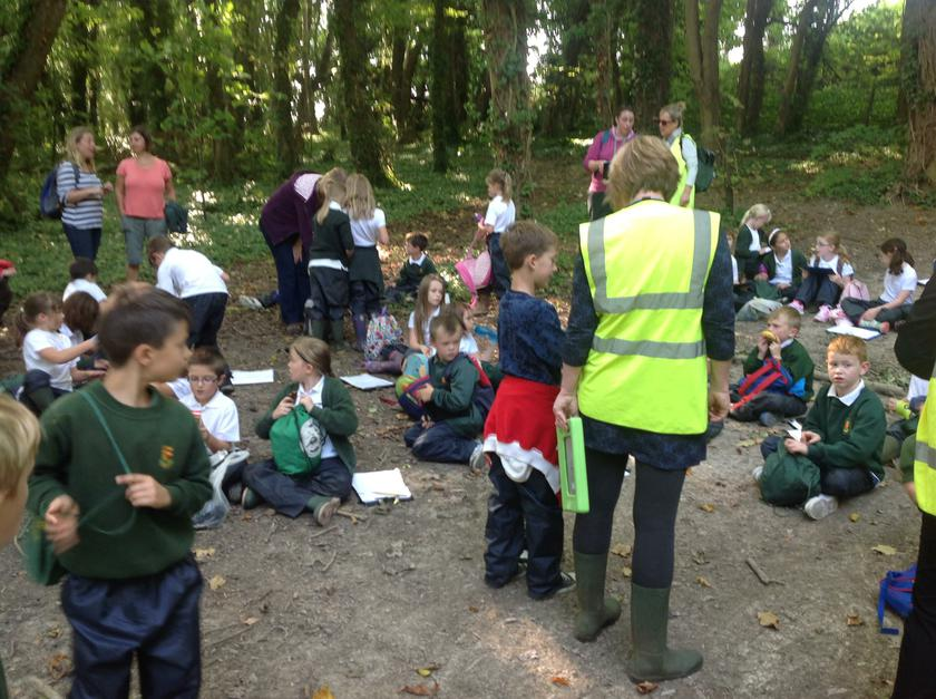 Breaktime and story time on Strawberry Hill