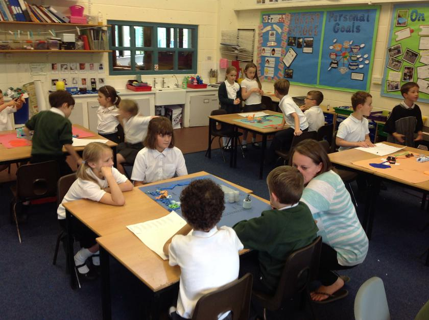 Sharing our learning with Mrs Winbolt