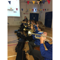 Our Brass lessons with Mrs Kenyon