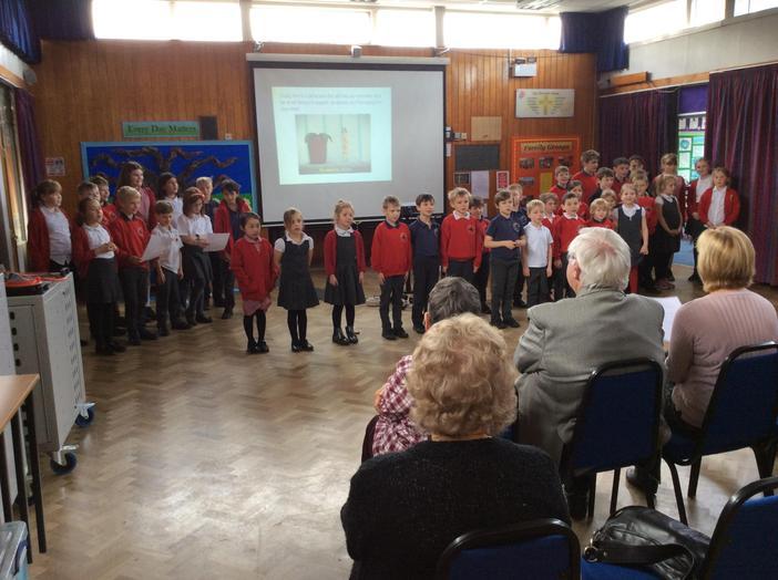 Whole School sings Toilet Twinning Song