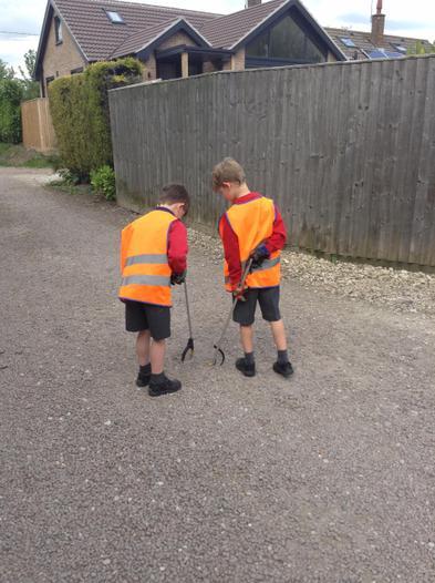 We have a school Eco Team.