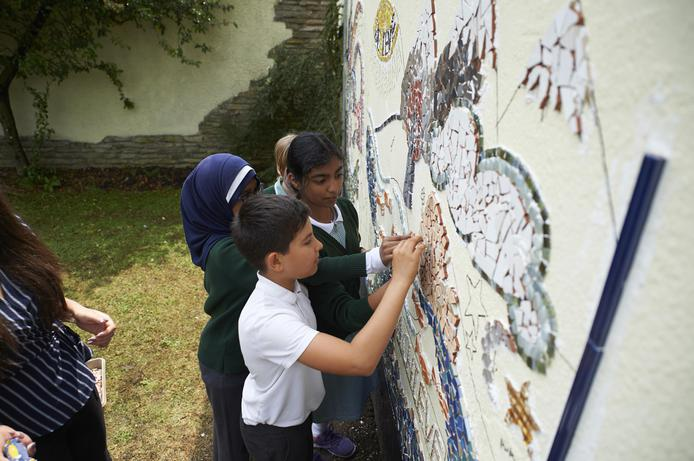 Working together to help create our mosaic