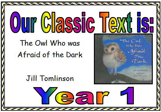 Year 1 Class Text