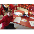 Building sentences using the word train