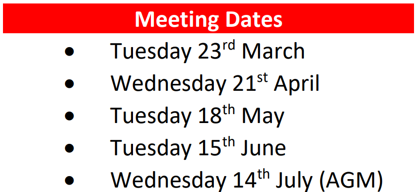 PTA Meeting Dates
