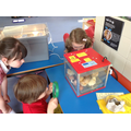 The chicks are hatching in Reception!